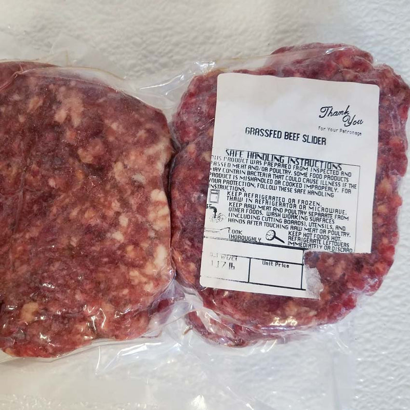 Beef - Grassfed Beef Sliders - 18oz
