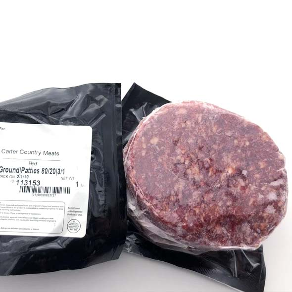 Carter Country Meats - 3/1 Patties