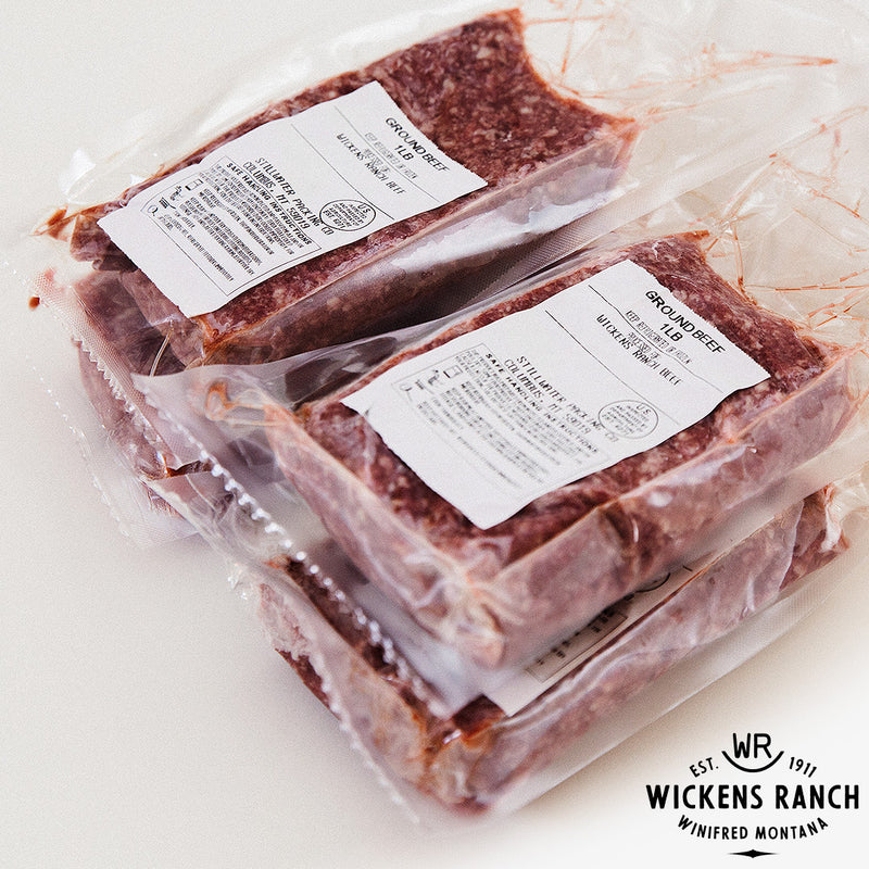 Wickens Ground Beef 4-Pack