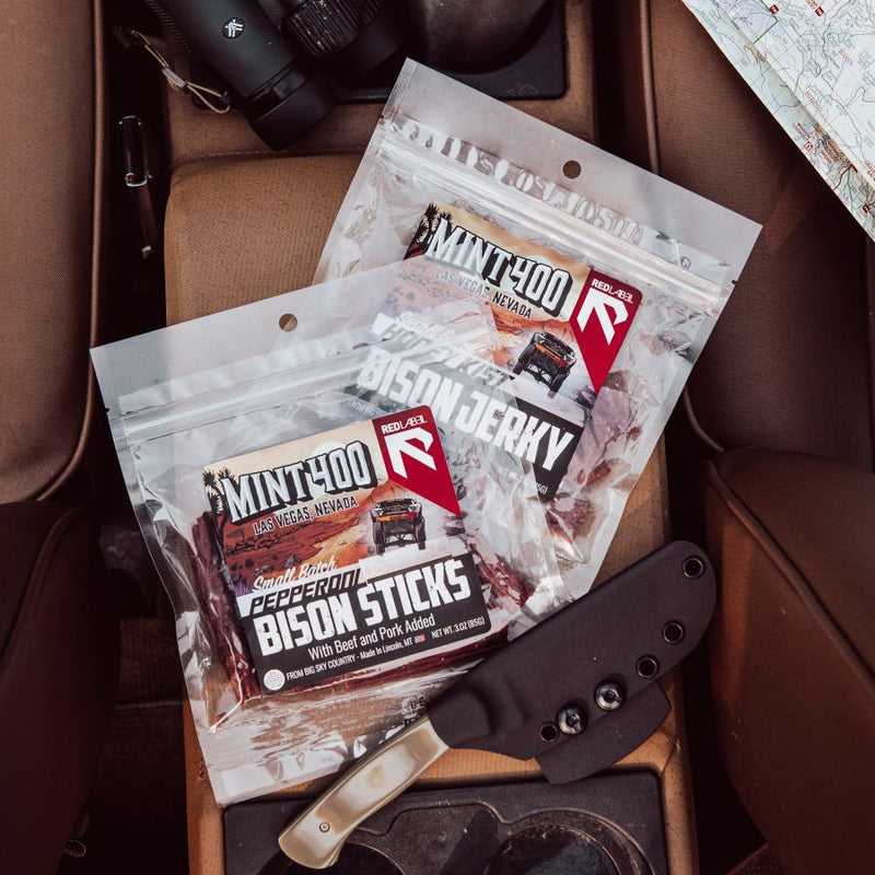 Bison Jerky Box