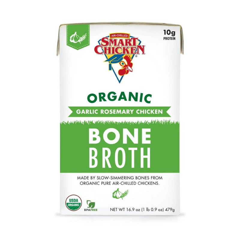Smart Chicken - Organic Garlic Rosemary Chicken Bone Broth