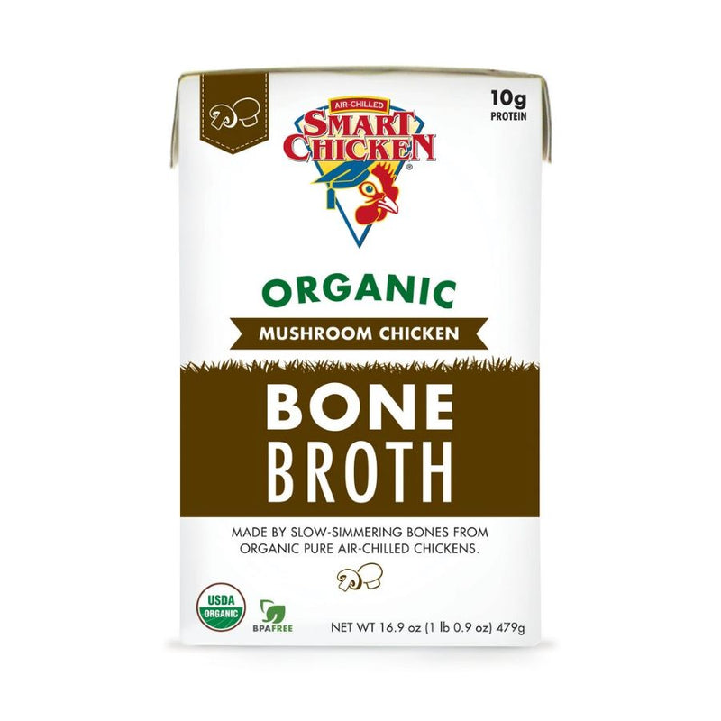 Smart Chicken - Organic Mushroom Chicken Bone Broth