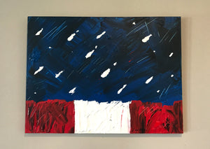 Stars and Stripes Painting