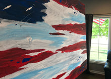 USA Flag Painting