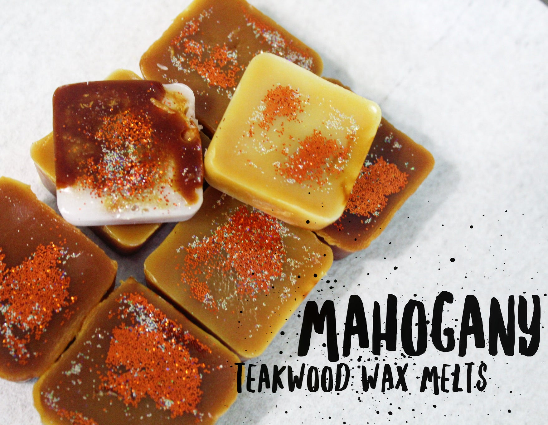 Wax melt rounds and squares