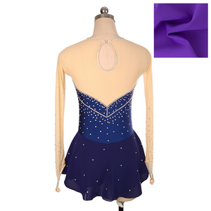 Royal Diamond Skating Dress | Violet | Child Size 12