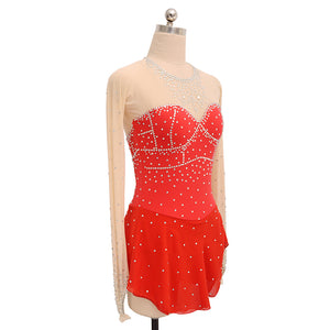 Royal Diamond Figure Skating Dress - Joyce + Co.