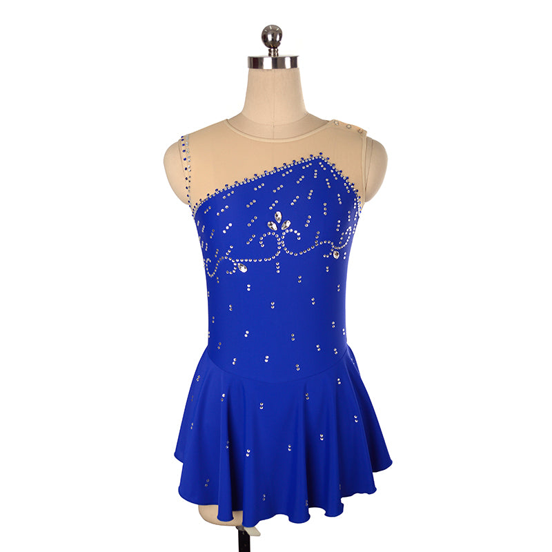 Empire Figure Skating Dress - Joyce + Co. Competition Figure Skating Dresses