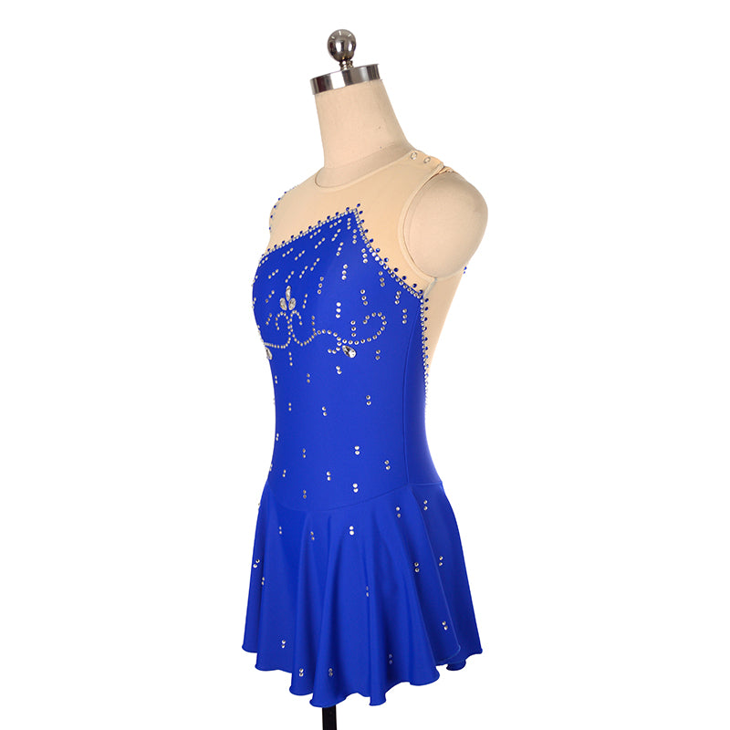 Empire Figure Skating Dress - Joyce + Co. Premier Figure Skating Designs