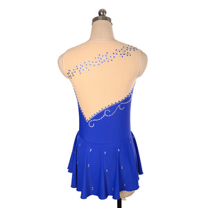 Empire Figure Skating Dress - Joyce + Co. Custom Figure Skating Dresses