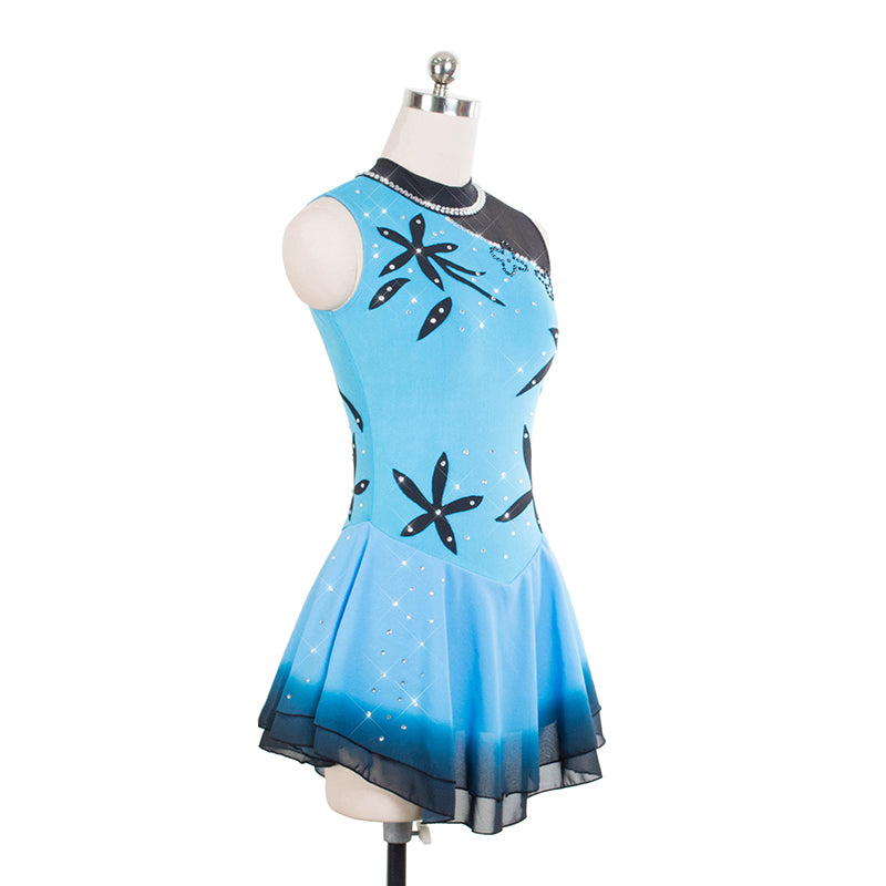 South Pacific Figure Skating Dress - Joyce + Co. Figure Skating Designs- Competition Skating Dresses
