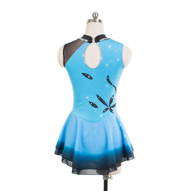 South Pacific Figure Skating Dress - Joyce + Co. Ice Skating Designs- Premier Skating Dresses