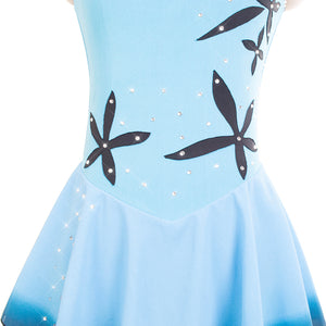 South Pacific Ice Skating Dress - Joyce + Co. Figure Skating- Ready to Ship Skating Dresses