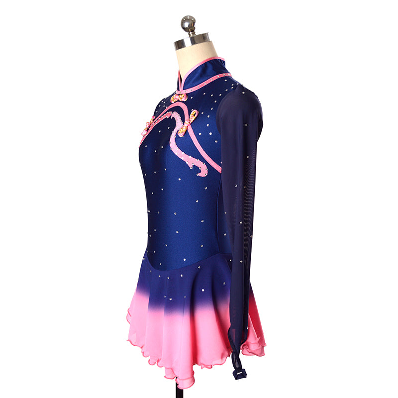 Dynasty Figure Skating Dress- Japanese Figure Skating Dress- Joyce and Co