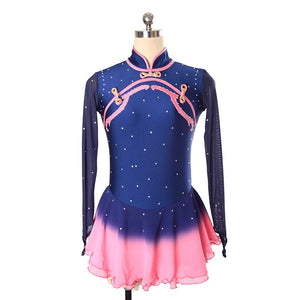 Dynasty Figure Skating Dress- Joyce and Co Premier Figure Skating Designs