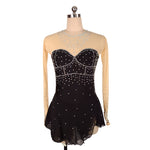 Royal Diamond Skating Dress | Black | Adult M