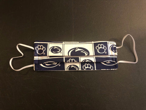 Penn State Accordion Face Mask