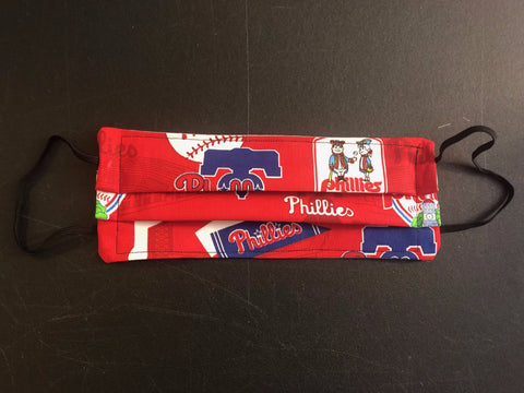 Philadelphia Phillies Accordion Face Mask