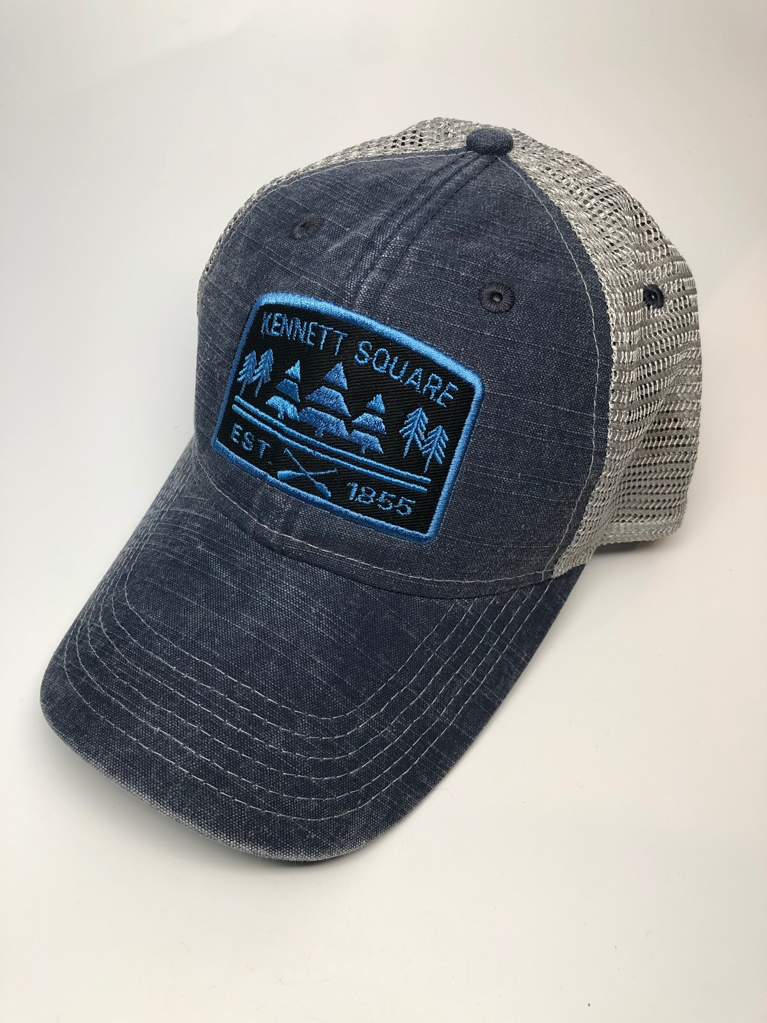 Kennett Square Stone Washed Pines Vintage Snap Back Hat