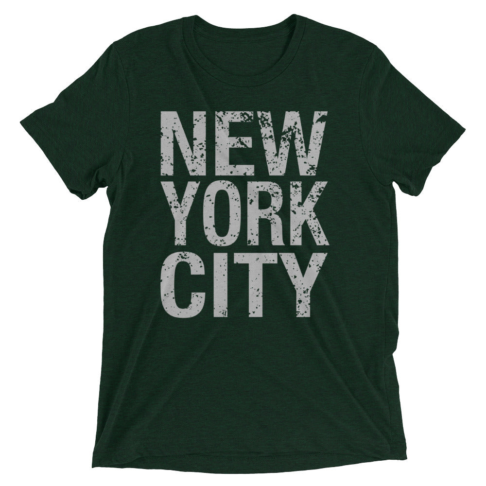 New York City Stacked Distressed Shirt