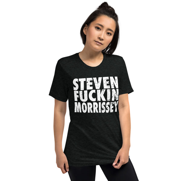 Street Crumb Exclusive Steven F**CKIN Morrissey Shirt (Dark Version)!