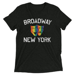 Broadway New York City Mask Theater Shirt