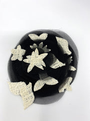 Chanel Camelia Crochet Brooch
