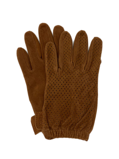 Vintage Fendi Suede Leather Driving Gloves