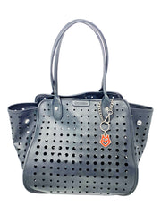 Love Moschino Black Perforated Tote