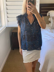 Ulla Johnson Floral Top - Size 6
