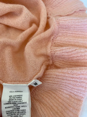 Ulla Johnson Peach Cashmere Sweater - Size 6