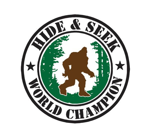 Sticker - Bigfoot Hide & Seek