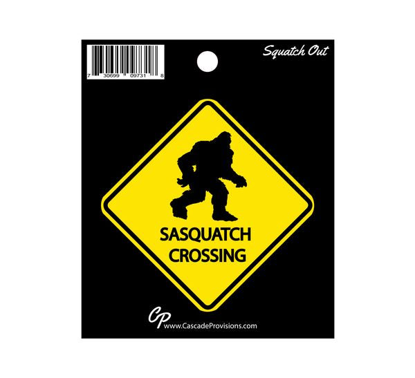 Sticker - Sasquatch Crossing