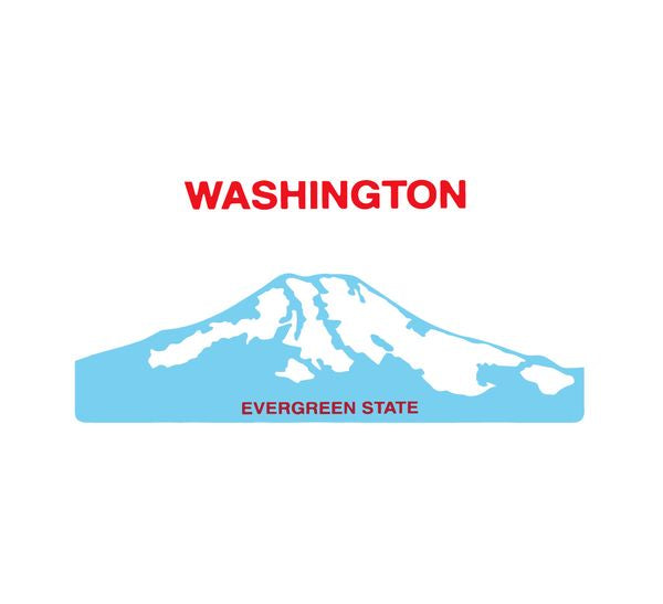 Sticker - Washington License Plate