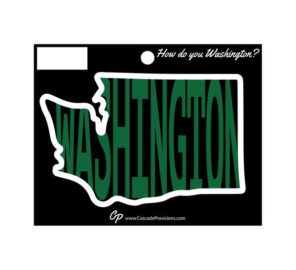 Sticker - Washington in WA
