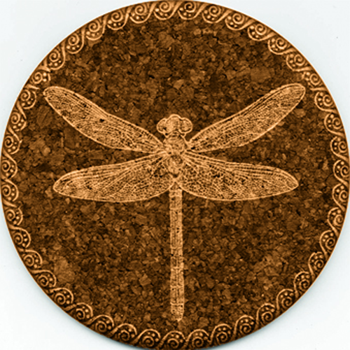 Coaster - Dragonfly - Reverse Cork