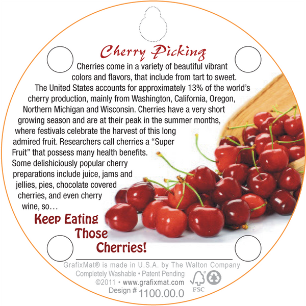 Coaster - Cherry Picking - Cork