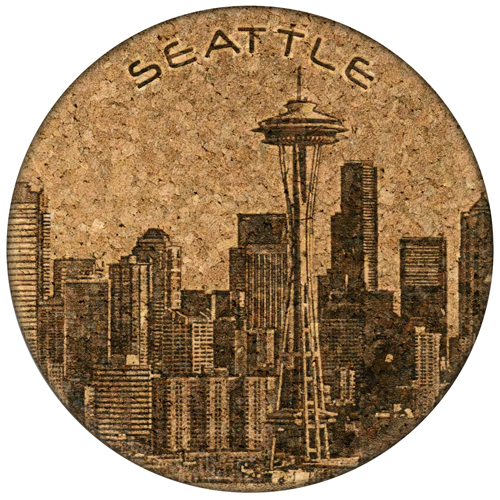 Coaster - Seattle Skyline - Cork