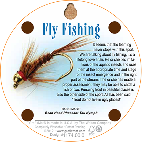 Coaster - Fly Fishing - Cork