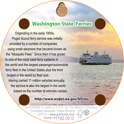 Coaster - Washington State Ferries - Cork