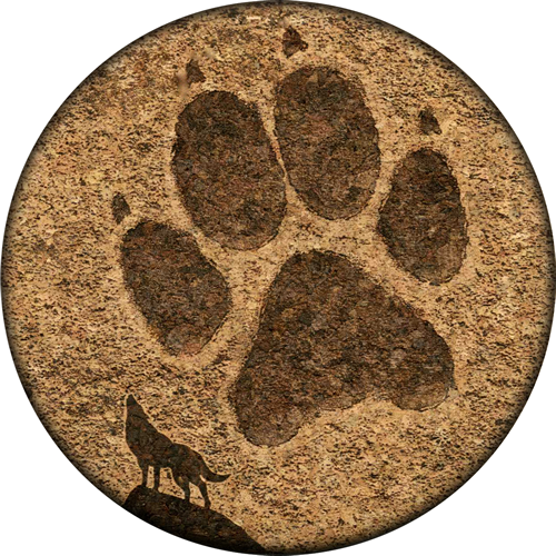Coaster - Wolf Tracks - Cork
