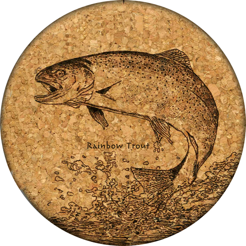 Coaster - Rainbow Trout - Cork