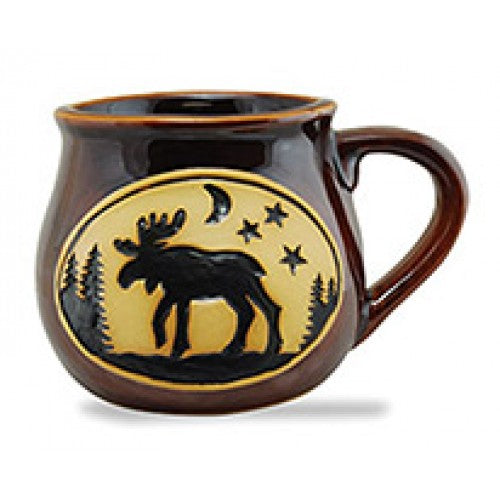 Mug Bean Pot Mug Moose