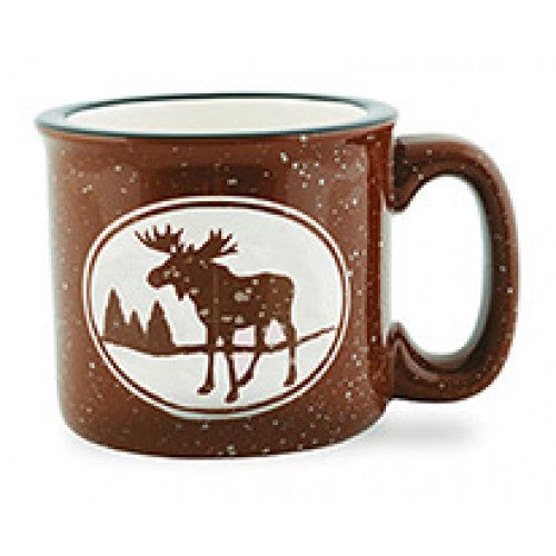 Mug Camp Mug Brown Moose