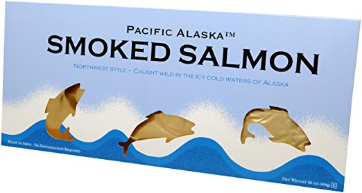 Pacific Alaska Smoked Salmon 16oz