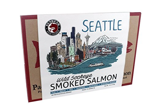 Seattle Skyline Smoked Sockeye Salmon 6 oz