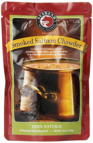 Smoked Salmon Chowder 12 oz