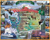 Puzzle - 1000 Piece Washington