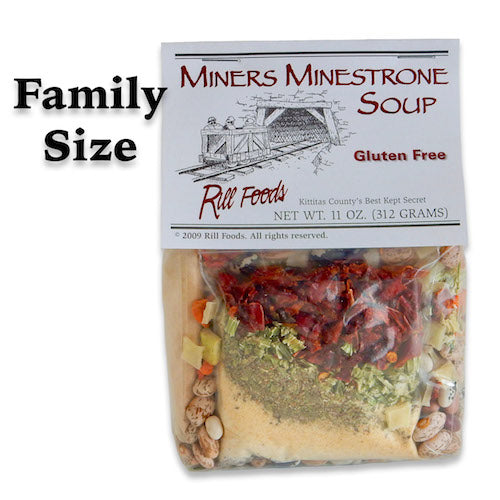Soup Mix - Miners Minestrone Soup - 10 Cups