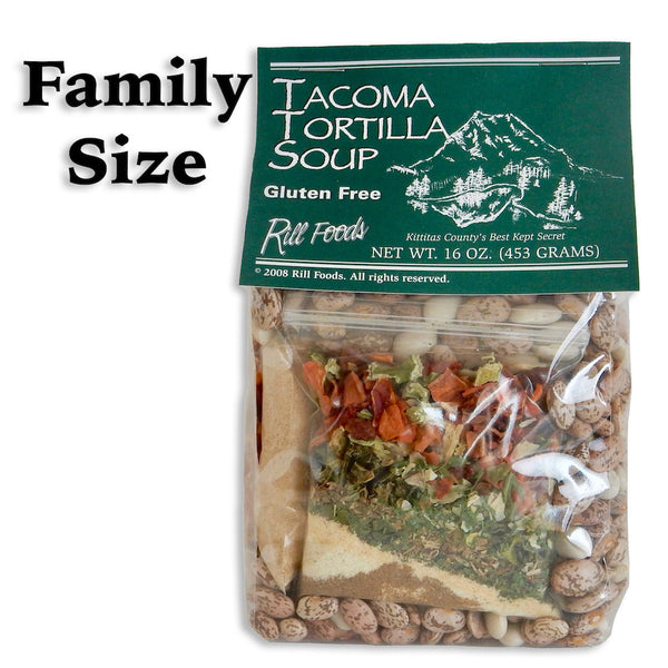Soup Mix - Tacoma Tortilla Soup - 10 Cups